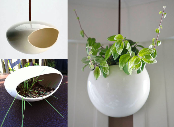 birdfeeder planter