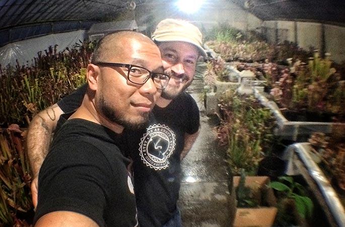 Rob and I